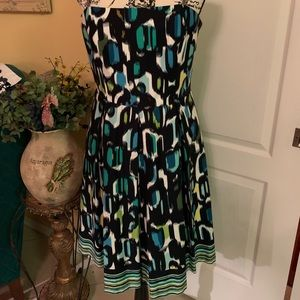 Strapless dress by Muse size 12 new never worn